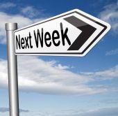 Next week — Stock Photo