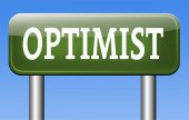 Optimist sign — Foto de Stock