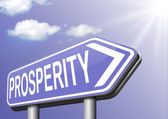 Prosperity succeed in life — Stock Photo