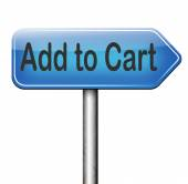 Add to cart — Stock Photo