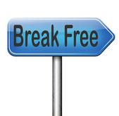 Break free — Stock Photo