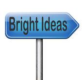 Ideias brilhantes — Foto Stock
