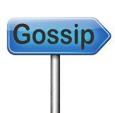 Gossip and rumors — Foto Stock