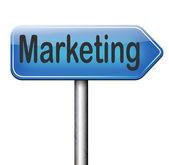 Piano di marketing — Foto Stock