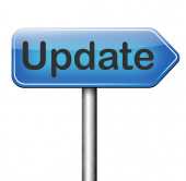 Update sign — Stock Photo