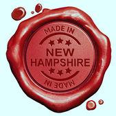 Gemaakt in new hampshire — Stockfoto
