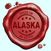Made in Alaska — Stock Photo