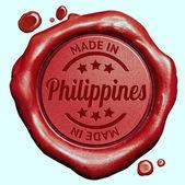 Maakte in filippijnen — Stockfoto