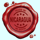 Made in Nicaragua — Stock Photo