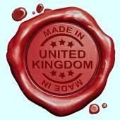 Gemaakt in verenigd koninkrijk — Stockfoto