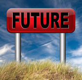 Bright future — Stock Photo