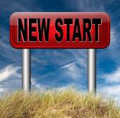 New start — Stock Photo