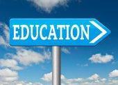 Signo de educación — Foto de Stock