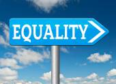 Equality sign — Stock Photo
