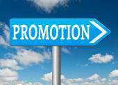 Sales promotion — Stock Photo