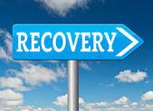 Total economic recovery — Stock Photo