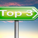 Top 3 charts — Stock Photo #58736853