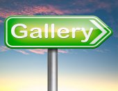 Picture gallery — Stock Photo
