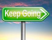 Keep going — Stock Photo