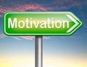 Motivation sign — Stock Photo