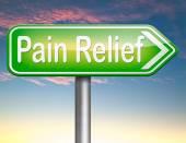 Pain relief — Stock Photo