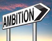 Ambitionen tror stor uppsättning — Stockfoto