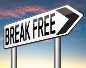 Break free — Stock Photo