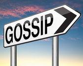 Gossip and rumors — Stock Photo