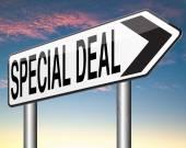 Özel anlaşma — Stok fotoğraf