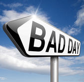 Bad day — Stock Photo
