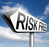 Risk free — Stock Photo