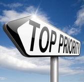 Top priority — Stock Photo