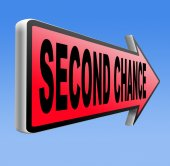 Second chance — Foto Stock