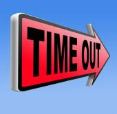 Time out — Foto Stock
