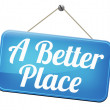 A better place — Stock Photo #59054019