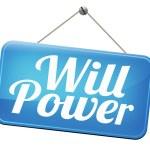 Will power — Stock Photo #59054637