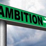 Ambition think big set — Stock Photo #59054669