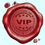Exclusive VIP stamp — Stock Photo #59056077