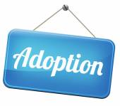 Adoption child — Stock Photo