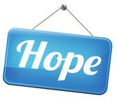 Hope sign — Stock Photo