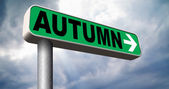 Next autumn — Stock Photo