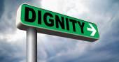 Dignity self esteem — Stock Photo