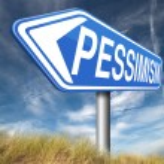 Pessimism sign — Stock Photo #59881193