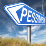 Pessimism sign — Stock Photo #59884015