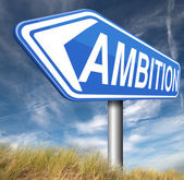 Ambition think big set — Stock Photo