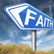 Faith and trust — Stock Photo #59971047