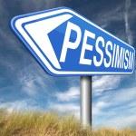 Pessimism sign — Stock Photo #59974279