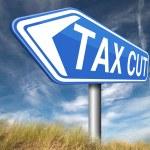 Tax cut — Stock Photo #59975839