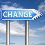 Change ahead — Stock Photo #59977761