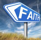 Faith and trust — Stock Photo